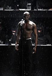 Stormzy performs on stage during the 2018 BRIT Awards show, held at the O2 Arena, London. EDITORIAL USE ONLY. PRESS ASSOCIATION Photo. Picture date: Wednesday February 21, 2018. See PA Story SHOWBIZ Brits. Photo credit should read: Victoria Jones/PA Wire.
