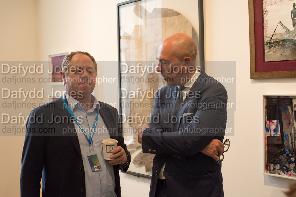 MICHAEL HOPPEN; DYLAN JONES, , Opening of Photo London, 2018. Somerset House. London. 16 May 2018