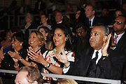 """15 November 2010- New York, NY-l to r: Cathy Hughes, Phylicia Rashad, and Rev. Al Sharpton at The National Action Network's 1st Annual Triumph Awards honoring """"Our Best"""" in the Arts, Entertainment, & Sports held at Jazz at Lincoln Center on November 15, 2010 in New York City. Photo Credit: Terrence Jennings"""