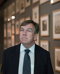 © Licensed to London News Pictures . 17/07/2015 . Manchester , UK . JOHN WHITTINGDALE OBE , MP for Maldon and Secretary of State for Culture Media and Sport , visits the newly extended and refurbished Whitworth Art Gallery , in Manchester . The venue has been  nominated for this year's (2015) Riba Stirling Prize for the UK's best new building . Photo credit: Joel Goodman/LNP