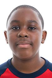 Portrait of a teenage boy in the studio,