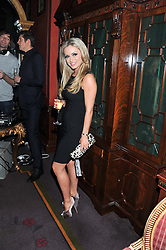 OLA JORDAN at the 39th birthday party for Nick Candy in association with Ciroc Vodka held at 5 Cavindish Square, London on 21st Januatu 2012.