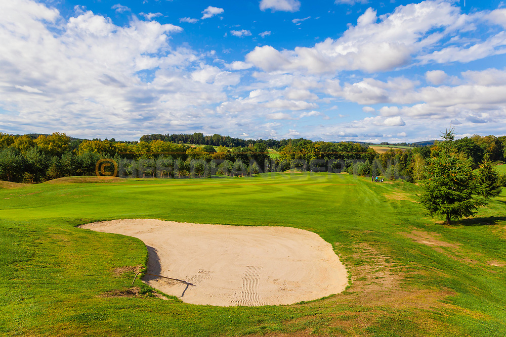 18-09-2015: Golf & Spa Resort Konopiste in Benesov, Tsjechië.<br /> Foto: Golfbaan d'Este
