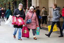 © Licensed to London News Pictures. 15/12/2018. London, UK.  People Christmas shopping in Oxford Street in London today, less than two weeks before Christmas on what is usually one of the busiest shopping weekends of the year.  Photo credit: Vickie Flores/LNP