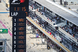 October 21, 2017 - Austin, Texas, U.S - The pits are ready for action during the final practice before the Formula 1 United States Grand Prix race at the Circuit of the Americas race track in Austin,Texas. (Credit Image: © Dan Wozniak via ZUMA Wire)