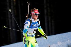 Klemen Bauer (SLO) during Men 15 km Mass Start at day 4 of IBU Biathlon World Cup 2015/16 Pokljuka, on December 20, 2015 in Rudno polje, Pokljuka, Slovenia. Photo by Urban Urbanc / Sportida