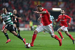 February 6, 2019 - Lisbon, Portugal - Benfica's Suisse forward Haris Seferovic in action during the Portugal Cup Semifinal first leg football match SL Benfica vs Sporting CP at Luz stadium in Lisbon, on February 6, 2019. (Credit Image: © Pedro Fiuza/ZUMA Wire)