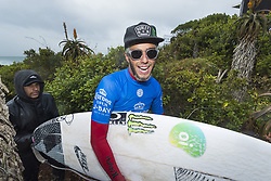 July 20, 2017 - Jeffreys Bay, South Africa - FILIPE TOLEDO of Brazil is the 2017 Corona Open J-Bay winner by defeating Frederico Morais of Brazil in the final in epic overhead conditions at Supertubes, Jeffreys Bay, South Africa.  The victory is Toledo's second Championship Tour win of his career. (Credit Image: © Rex Shutterstock via ZUMA Press)