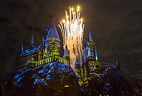 """""""Chrstmas in the Wizarding World of Harry Potter"""" press event held at Universal Studios Hollywood Nov. 16, 2017. Photo by David Sprague"""