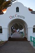 Via Casino Arch in Avalon
