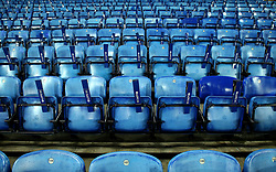Clappers left on the seats of Leicester City's King Power Stadium - Mandatory by-line: Robbie Stephenson/JMP - 16/01/2018 - FOOTBALL - King Power Stadium - Leicester, England - Leicester City v Fleetwood Town - Emirates FA Cup third round proper