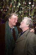 CHRISTOPHER SIMON SYKES; JULIAN BANNERMAN, Fashion and Gardens, The Garden Museum, Lambeth Palace Rd. SE!. 6 February 2014.