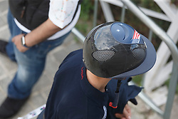 Helmet<br /> Furusiyya FEI Nations Cup Jumping Final - Barcelona 2015<br /> © Dirk Caremans<br /> 23/09/15