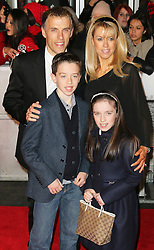 © Licensed to London News Pictures. Former Manchester United footballer Phil Neville and his family attend The Class of 92  World Film Premiere at The Odeon West End, Leicester Square, London on 01 December 2013. Photo credit: Richard Goldschmidt/LNP