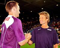◊Copyright:<br />GEPA pictures<br />◊Photographer:<br />Andreas Troester<br />◊Name:<br />Soendergaard<br />◊Rubric:<br />Sport<br />◊Type:<br />Fussball<br />◊Event:<br />T-Mobile Bundesliga, Supercup, GAK Graz vs Austria Magna Wien<br />◊Site:<br />Graz, Austria<br />◊Date:<br />09/07/04<br />◊Description:<br />Sigurd Rushfeldt, Trainer Lars Soendergaard (A.Wien)<br />◊Archive:<br />DCSTR-0907041893<br />◊RegDate:<br />10.07.2004<br />◊Note:<br />8 MB - WU/WU