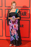 Baroness Thyssen the photocall of Vanity Fair 5th Anniversary party In Madrid