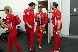 June 9, 2019 - Montreal, Canada - xa9; Photo4 / LaPresse.09/06/2019 Montreal, Canada.Sport .Grand Prix Formula One Canada 2019.In the pic: Sebastian Vettel (GER) Scuderia Ferrari SF90 and Mattia Binotto (ITA) Scuderia Ferrari Team Principal (Credit Image: © Photo4/Lapresse via ZUMA Press)