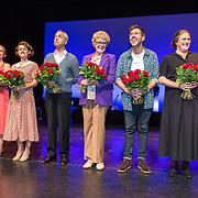 NLD/Amsterdamt/20180930 - Annie MG Schmidt viert eerste jubileum, Simone Kleinsma en William Spaaij en Marjolijn Touw