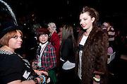 LAUREN MORTON; JANE TOMLINSON; SASKIA WHINNEY. Andrew Logan't Alternative Miss World. The Roundhouse. 2 May 2009