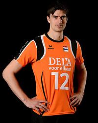 25-04-2013 VOLLEYBAL: NEDERLANDS MANNEN VOLLEYBALTEAM: ROTTERDAM<br /> Selectie Oranje mannen seizoen 2013-2014 / Wytze Kooistra<br /> ©2013-FotoHoogendoorn.nl