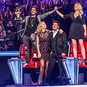 NLD/Hilversum//20170218 - Finale The Voice of Holland 2017, coache