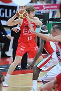 DESCRIZIONE : Pesaro  Lega A 2011-12 Scavolini Siviglia Pesaro EA7 Emporio Armani Milano  play off semifinale gara 3<br /> GIOCATORE : Nicolo Melli<br /> CATEGORIA : passaggio <br /> SQUADRA : EA7 Emporio Armani Milano<br /> EVENTO : Campionato Lega A 2011-2012 Play off semifinale gara 3<br /> GARA : Scavolini Siviglia Pesaro  EA7 Emporio Armani Milano <br /> DATA : 02/06/2012<br /> SPORT : Pallacanestro <br /> AUTORE : Agenzia Ciamillo-Castoria/ GiulioCiamillo<br /> Galleria : Lega Basket A 2011-2012  <br /> Fotonotizia : Pesaro  Lega A 2011-12 Scavolini Siviglia Pesaro EA7 Emporio Armani Milano play off semifinale gara 3<br /> Predefinita :