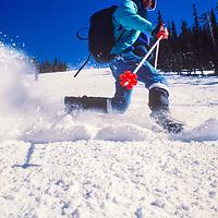 Gordon Wiltsie telemark skis at Keystone Ski Area, Colorado