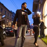 Il FuoriSalone 2010 nelle vie di centrali Milano, Via Manzoni