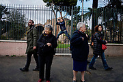 Non una di meno, manifestazione contro la violenza sulle donne. Roma 25 Novembre 2017. Christian Mantuano / OneShot<br /> <br /> National Women's manifestation in Rome on International Day for the Elimination of Violence Against Women, against Women's Feminism and male assault. Rome 25 November 2017. Christian Mantuano / OneShot