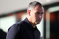 Swansea manager Paul Clement looks on prior to kick off. Pre-season friendly match, Barnet v Swansea city at the Hive in London on Wednesday 12th July 2017.<br /> pic by Steffan Bowen, Andrew Orchard sports photography.