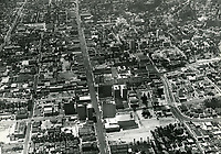 1932 Looking west down Hollywood Blvd. near Vine St.