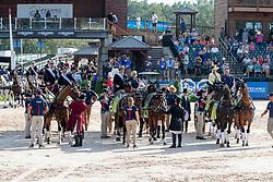Team USA, Fairclough James, USA, Wrigley-Miller Misdee, USA, Weber Chester, USA<br /> World Equestrian Games - Tryon 2018<br /> © Hippo Foto - Dirk Caremans<br /> 23/09/2018