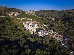 Vista aérea do Hospital Divina Providência, em Porto Alegre. Foto: Jefferson Bernardes/ Agência Preview