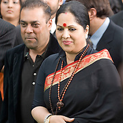 SHEFFIELD, UNITED KINGDOM - 9th June 2007: Sunanda Shetty (mother of Shilpa) at International Indian Film Academy Awards (IIFAs) at the Sheffield Hallam Arena on June 9, 2007 in Sheffield, England.