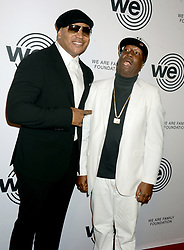 LL Cool J and Grandmaster Flash arriving to the We Are Family Foundation Celebration Gala at Hammerstein Ballroom on April 27, 2018 in New York City, NY, USA. Photo by Dennis van Tine/ABACAPRESS.COM