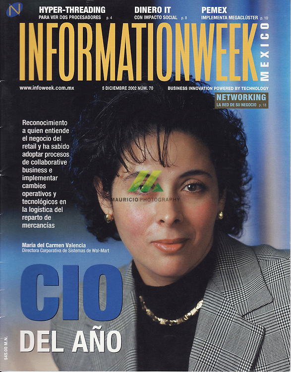 At 19, while in university, she started working for retailer Cifra, which was acquired by Wal-Mart (WMT) in 1997. She's now 39 and is vice-president for systems at Wal-Mart de Mexico.