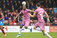 Calvin Andrew during the EFL Sky Bet League 1 match between Scunthorpe United and Rochdale at Glanford Park, Scunthorpe, England on 8 September 2018.