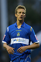 Carl Baker. Stockport County FC 1-0 Port Vale FC. Johnstones Paint Trophy. Edgeley Park. 2.9.08
