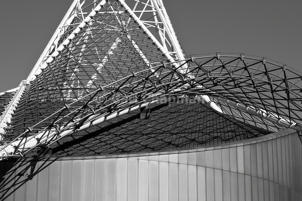 National Gallery of Victoria (NGV) Arts Centre wireframe tower - Melbourne <br /> <br /> Editions:- Open Edition Print / Stock Image