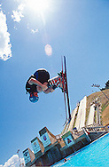 Olympic wanna-be freestyle aerials training for public