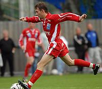 Fotball 2. divisjon 31.07.06 Rosenborg - Levanger 3-1<br /> Vegard Sunde Alstad, Levanger<br /> Foto: Carl-Erik Eriksson, Digitalsport