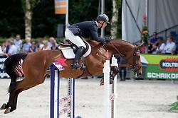 Kok Julian (NED) - Damaika<br /> KWPN Paardendagen - Ermelo 2012<br /> © Dirk Caremans