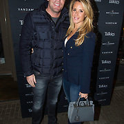 NLD/Amsterdam/20140203 - 20 Jaar Talkies Magazine, Robert Doornbos en partner Chantal Bles