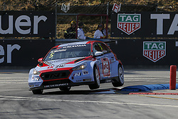 June 24, 2018 - Vila Real, Vila Real, Portugal - Norbert Michelisz from Hungary in Hyundai i30 N TCR of BRC Racing Team during the qualifying of FIA WTCR 2018 World Touring Car Cup Race of Portugal, Vila Real, June 23, 2018. (Credit Image: © Dpi/NurPhoto via ZUMA Press)