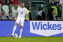 Kyle Walker of England in action - Photo mandatory by-line: Rogan Thomson/JMP - 07966 386802 - 31/03/2015 - SPORT - FOOTBALL - Turin, Italy - Juventus Stadium - Italy v England - FIFA International Friendly Match.