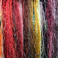 Asia, China, Suzhou. Chinese silk threads.