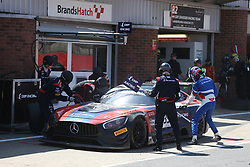 May 6, 2018 - Brands Hatch, Grande Bretagne - 35 SMP RACING BY AKKA ASP (RUS) MERCEDES AMG GT3 VALDIMIR ATOEV (RUS) ALEXEY KORNEEV  (Credit Image: © Panoramic via ZUMA Press)