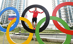 02.08.2016, Olympisches Dorf, Rio de Janeiro, BRA, Rio 2016, Olympische Sommerspiele, Vorberichte, im Bild O-Dorf Constantin Blaha // during the Rio 2016 Olympic Summer Games at the Olympisches Dorf in Rio de Janeiro, Brazil on 2016/08/02. EXPA Pictures © 2016, PhotoCredit: EXPA/ Erich Spiess