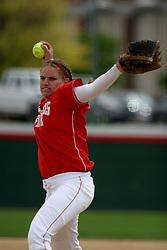 01 May 2005..ISU Pitcher Stacy Birk from the mound...ISU Redbirds V UNI (Northern Iowa) Panthers.  Illinois State University, Normal IL