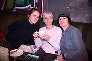 NO FEE PICTURES<br /> 30/12/15 Alvy Carragher, Galway, Anne Tannam, Drimnagh and Bern, Dublin, at the Lingo Brunch poetry reading at the Meeting House, part of the New Years Festival in Dublin. nyf.com running from 30th Dec to 1st Jan in Dublin. Picture: Arthur Carron